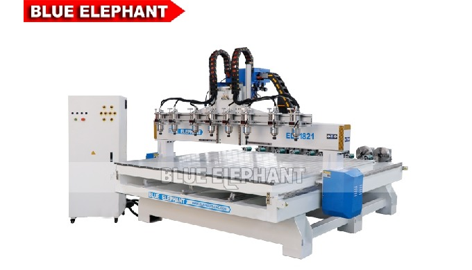 Features: 1. Distinct from 1325 Multi Spindle Woodworking Machine, the amount of spindles can be add...