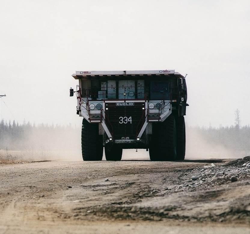Getriebe für den Bergbau / zweistufig