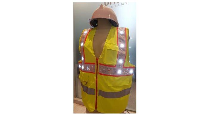 LED Flashing Safety Vest