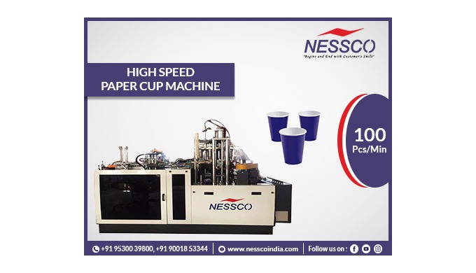 This High-speed Tea Coffee Cup Making Machine paper cup machine, an expert in producing tea and coff...