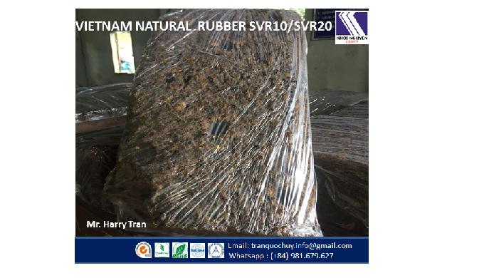 We supply Natural Rubber from Vietnam SVR10, SVR20,SVR3L,RSS1,RSS3,Latex 60% DRC HA/LA TSR10,TSR20, ...