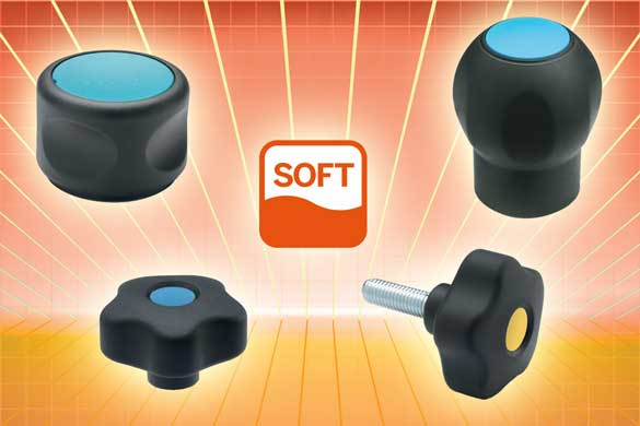 These Elesa Grip knobs, control knobs and handles represent their
