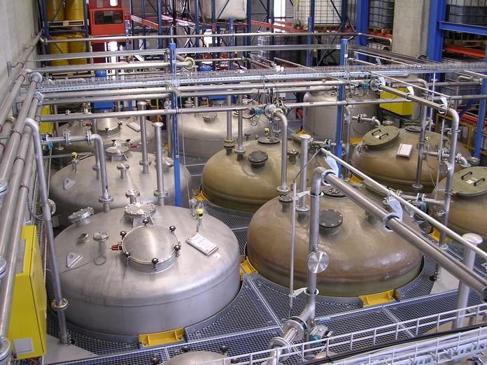 Rohrleitungsbau, Reaktoren