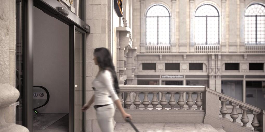 Wo es bei den Eingängen besonders auf die Ästhetik ankommt, wie etwa bei Glaseingängen in modernen G...