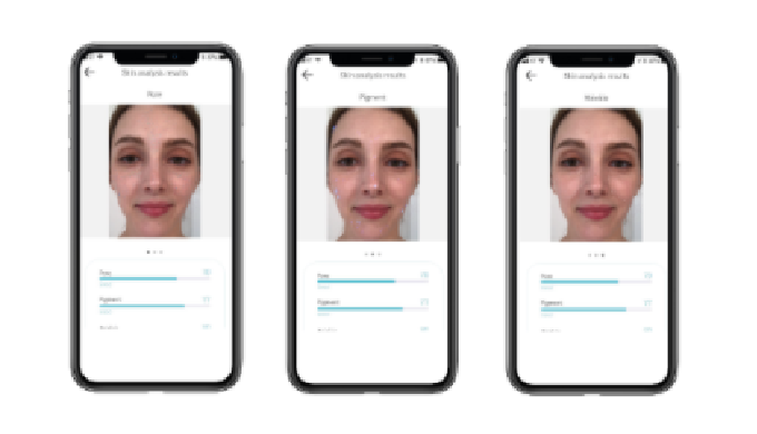 Skin image Analysis technology with a smartphone