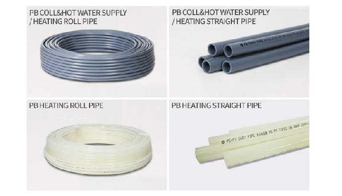 PB PIPE ( COLL&HOT WATERSUPPLY / HEATING / KS M 3363 : 2009) < Thermal conductivity > PB pipes have ...