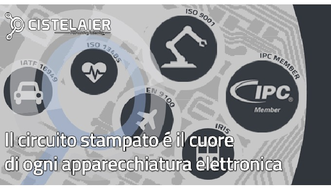 Il circuito stampato è il cuore di ogni apparecchiatura elettronica