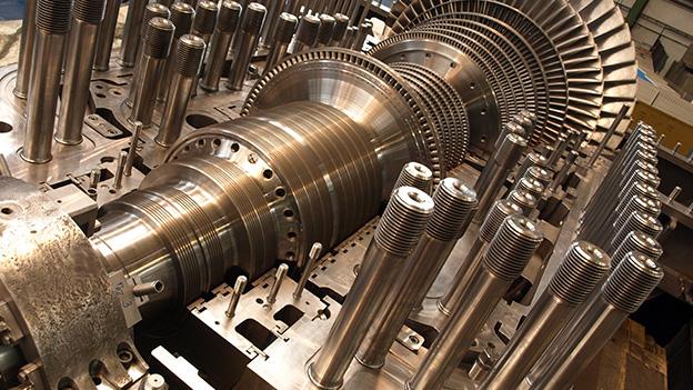 Parní turbíny - Kombinované cykly