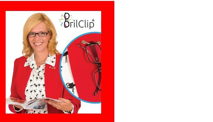 Brilclip® - nooit meer je leesbril kwijt, dat is handig!