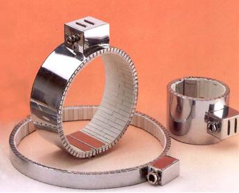 Resistencias de abrazadera en cerámica: Adecuadas para conseguir altas temperaturas.