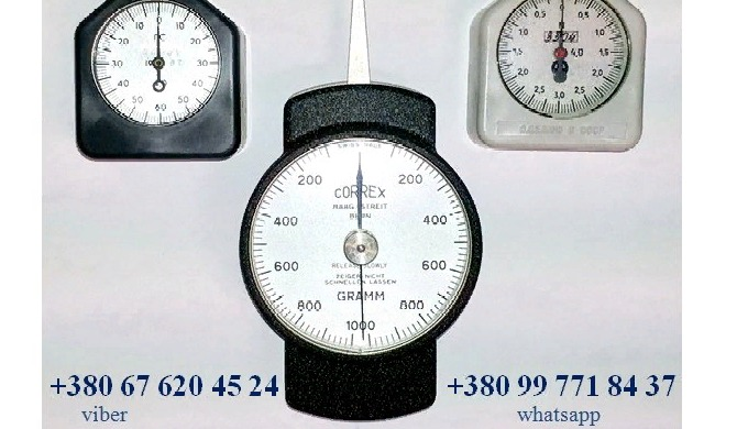 Граммометр (динамометр) часового типа серии Г, ГРМ, ГМ и др.: +380(99)7718437 - WhatsApp, +380(67)6204524 - Viber