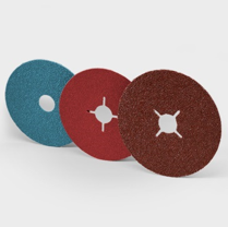 Abrasive discs of different diameters
