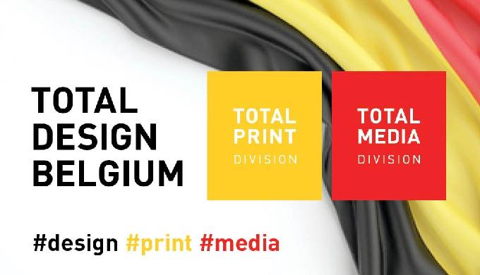Total Design Belgium is een 360° Communicatie én Marketing Agentschap: Design, Print en Media - Logo...