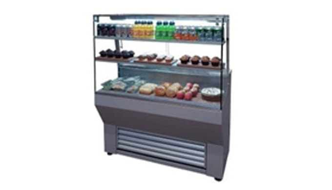 Our Serve Over Fridge or Deli Counter Display provides the best solution for your catering business ...