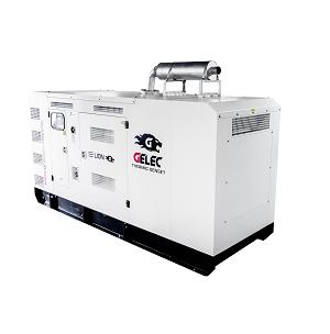 Groupe électrogène diesel GELEC de 495 kVA : Ce groupe électrogène industriel est équipé d'un disjon...