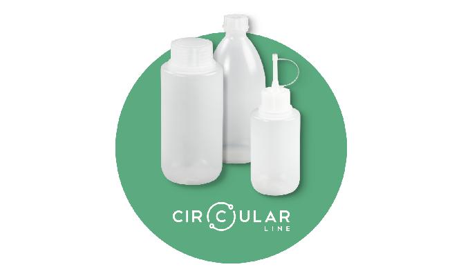 Laborflaschen aus der Kreislaufwirtschaft