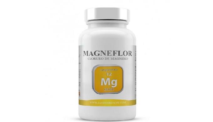 Magneflor es un complemento alimenticio en cuya estructura de composición destaca fundamentalmente e...