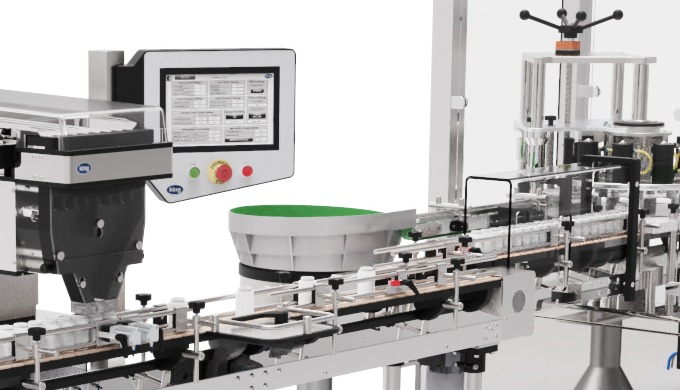 Bottling Filling Lines designed for Pharmaceutical and Nutritional products: King Technocount T8 Tab...