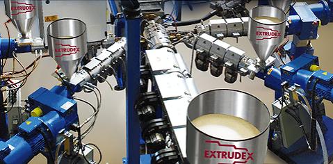 EXTRUDEX bietet ein breites Spektrum an Komplettlösungen: Bedarfsgerechte Komplettanlagen aus einer ...