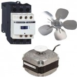 Elektroniske motorer, vifter og tidsur