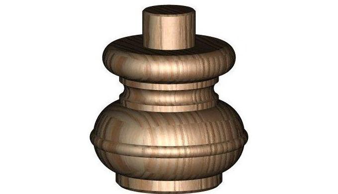 CNC soustružení dřeva Provádíme CNC soustružení dřeva - zákázkové soustružené dřevěné výrobky, jako ...