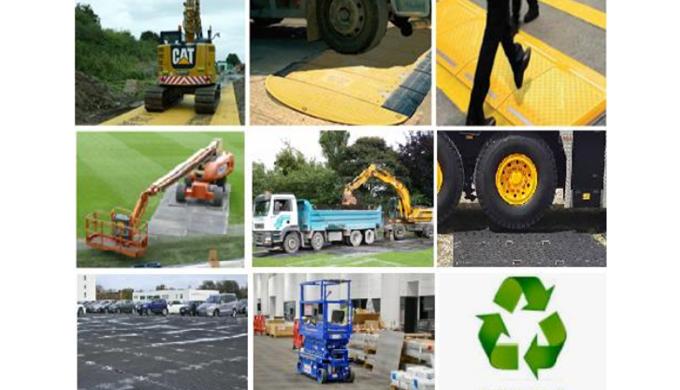 GROUNDGUARDS:  una solución simple, rápida y económica  para proteger suelos y superficies