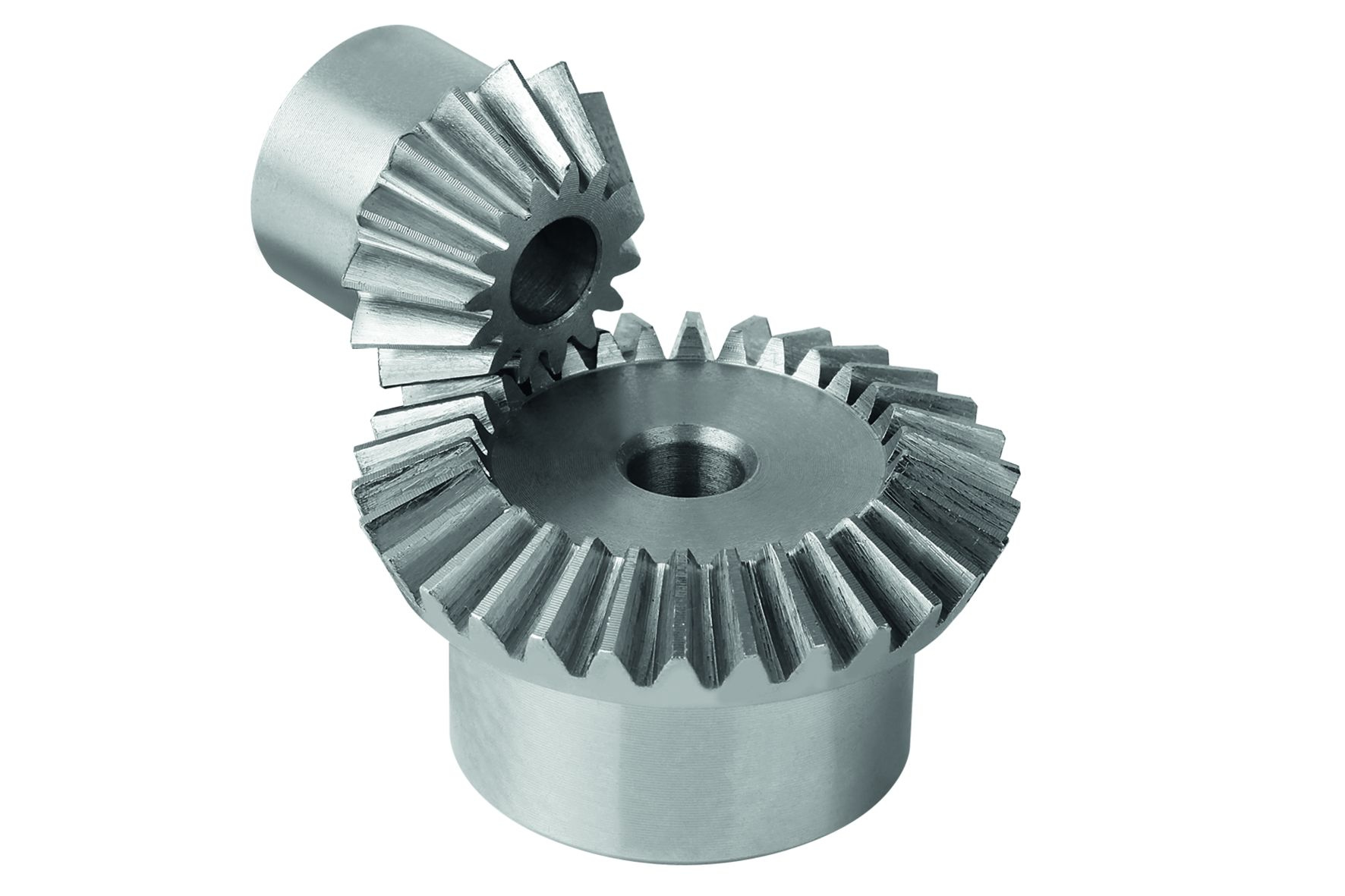 Ratio: 1:1, 1:2, 1:3 or 1:4. Material: Steel 1.0503 (C45). Version: Milled toothing, straight teeth....
