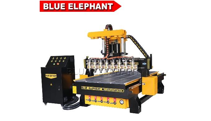 1325 8-Spindel-cnc-Holzbearbeitung Gravur für den Einsatz in der Fertigung-Maschine