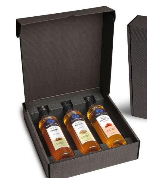 A travers ce coffret de 3 huiles 100% vierge issues de fruits et de graines cultivés aux quatre coin...