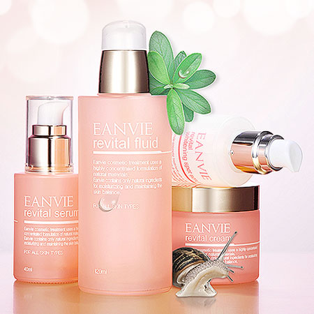 Eanvie Skin Care(Revital set)