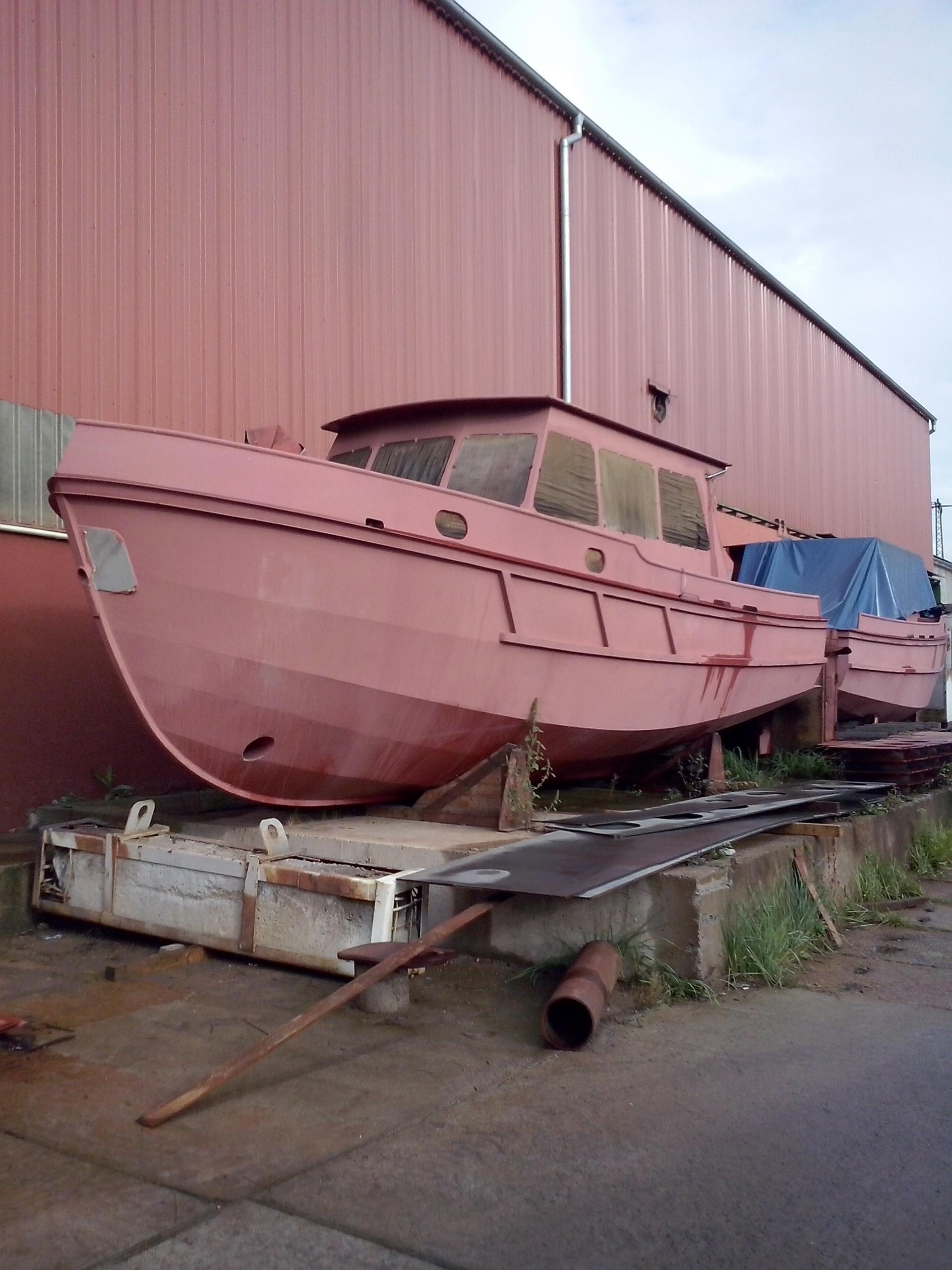 """Výletní motorová jachta """"Jantar-93"""""""