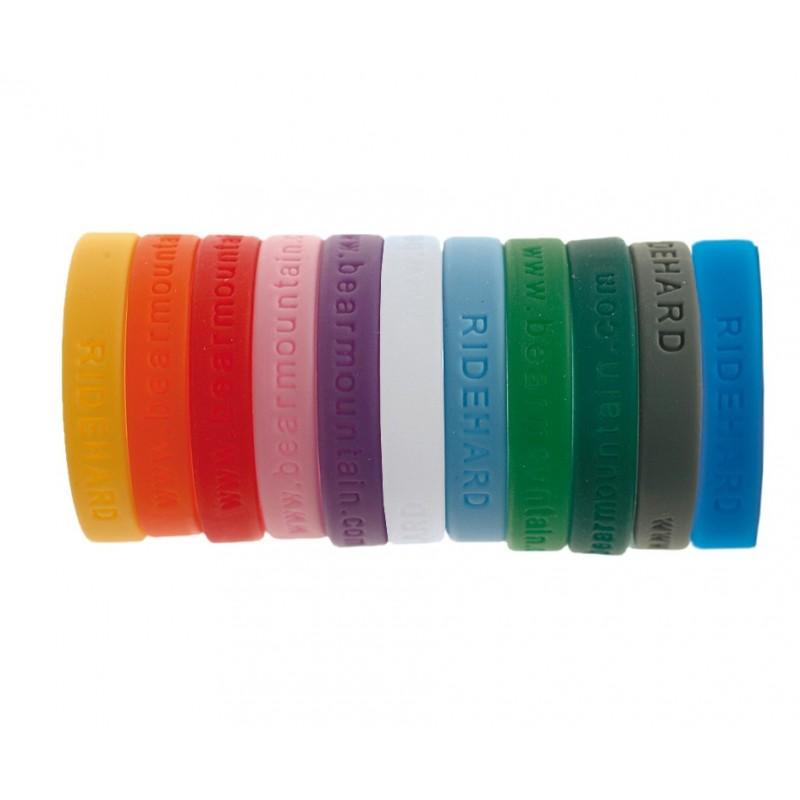 Bracelets publicitaires en silicone à distribuer afin d'améliorer la notoriété de votre entreprise.