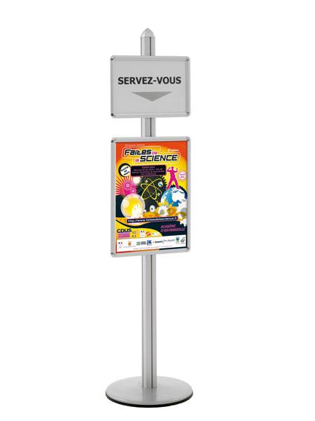 Communiquez, présentez et affichezUtilisation pour l'aménagement de zones d'accueil et d'expositionP...