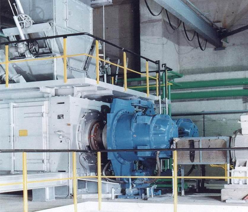 Getriebe für Walzenpressen / 3-stufig