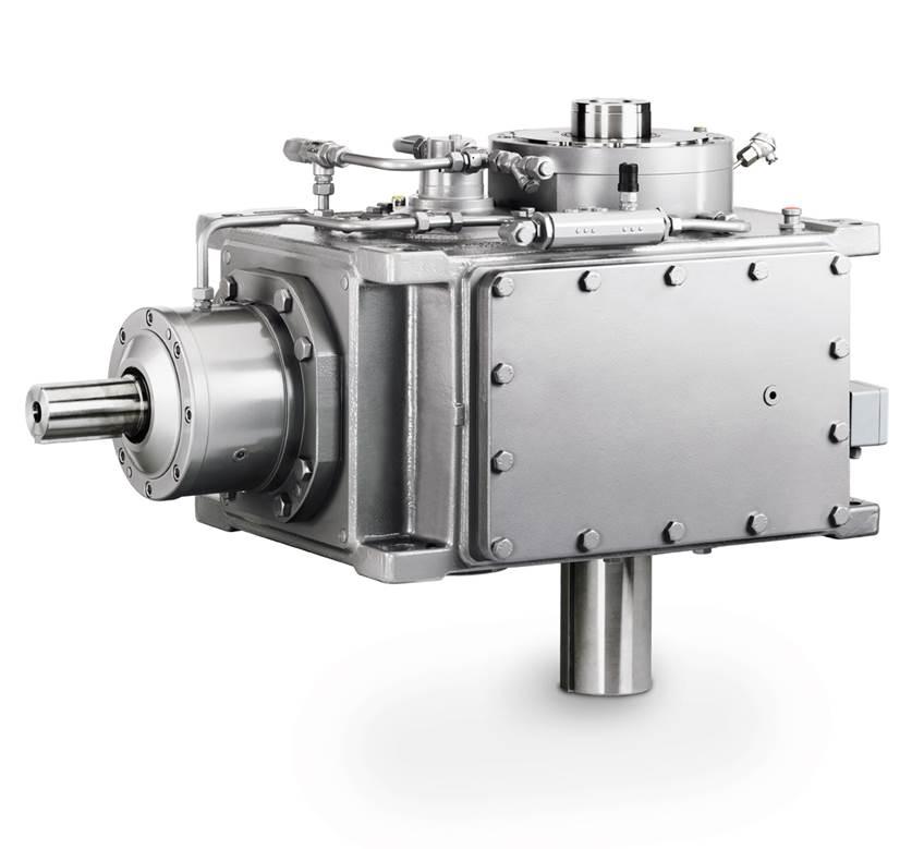 Kegelradgetriebe / Vertikal / für Wasserturbine