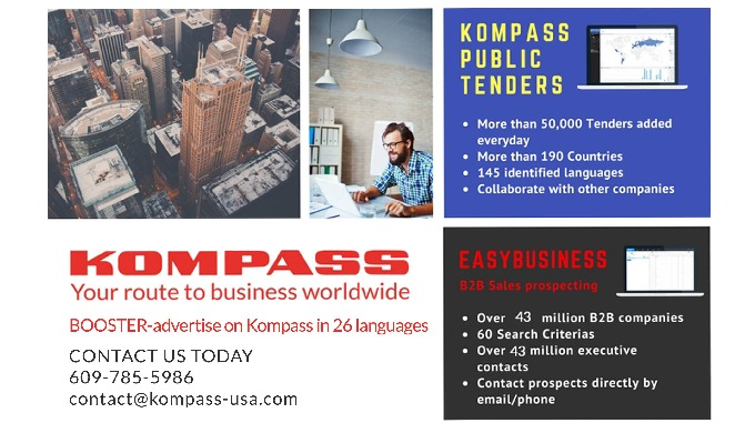 Over 14 million companies in USA available on EasyBusiness by Kompass