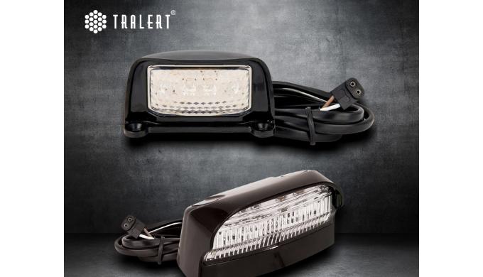LED kentekenverlichting Het hebben van een zichtbaar kenteken begint bij TRALERT®. Met ons als lever...