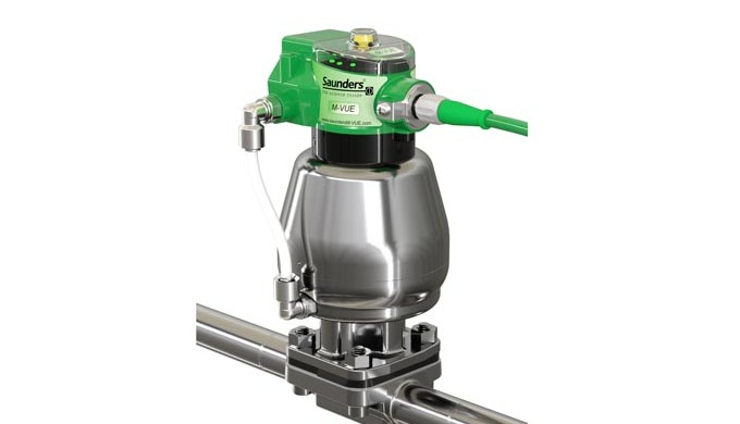 The Saunders ® HC4 aseptic diaphragm valve is the most important control component in today's bio-ph...