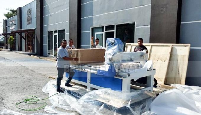Blue Elephant 1325 CNC machine a été expédiée à notre client à Panama