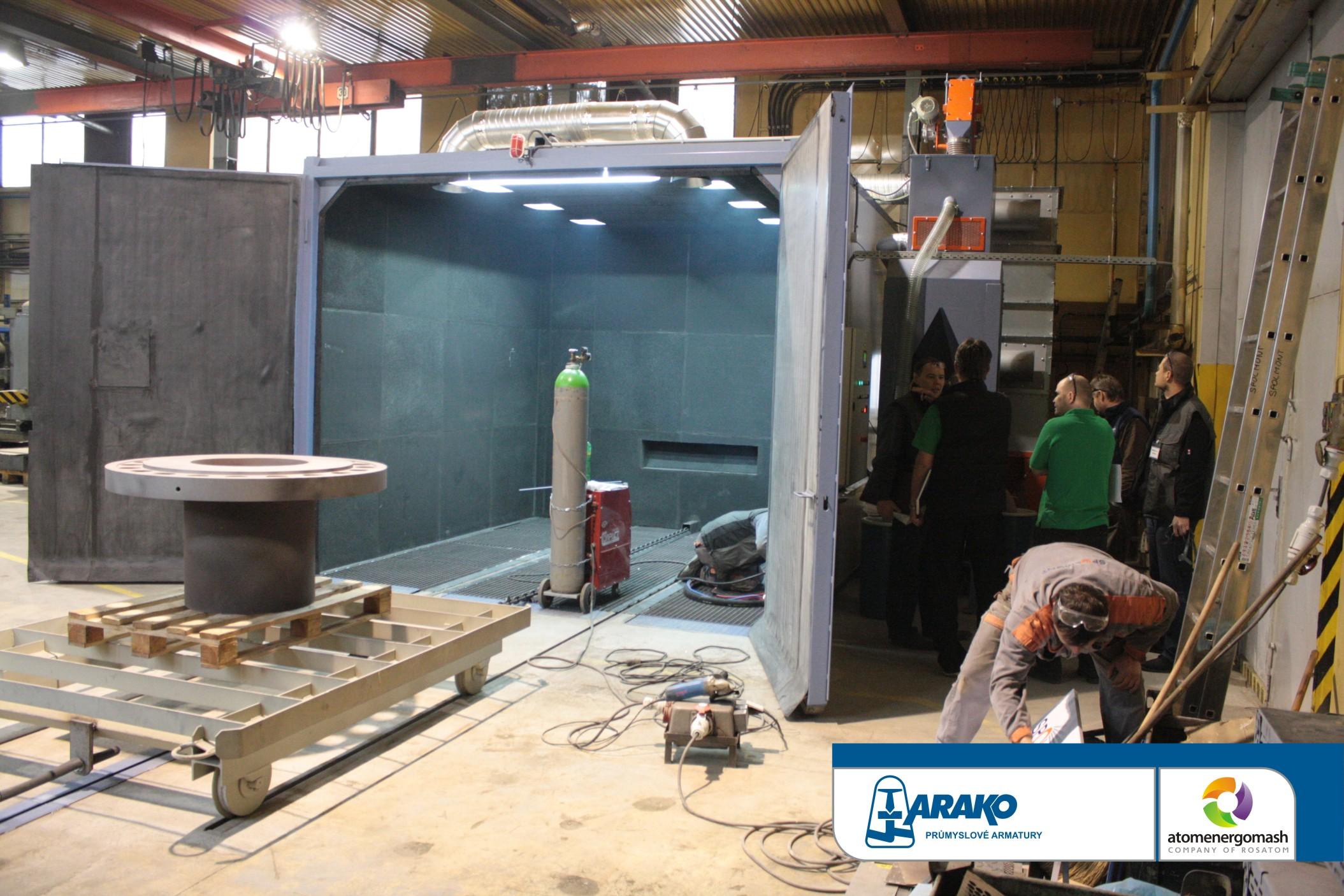 Společnost ARAKO spol. s r.o., přední výrobce průmyslových armatur, rozšiřuje své kooperační a výrob...