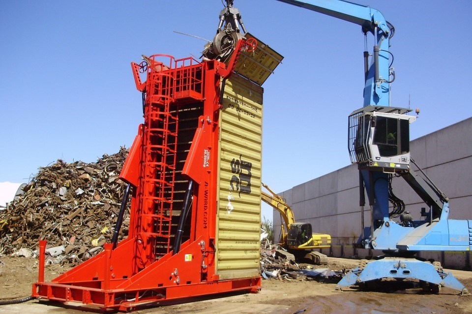 Instalatiile pentru containere se împart în trei categorii principale: - pentru încarcare containere...