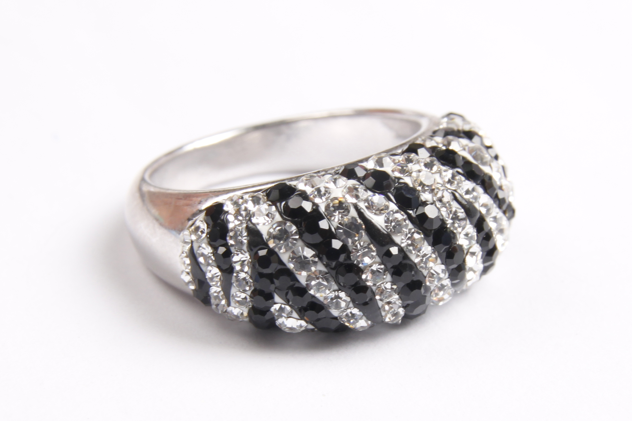Scent of a love zebra ring ㅣ hanguel silver earring