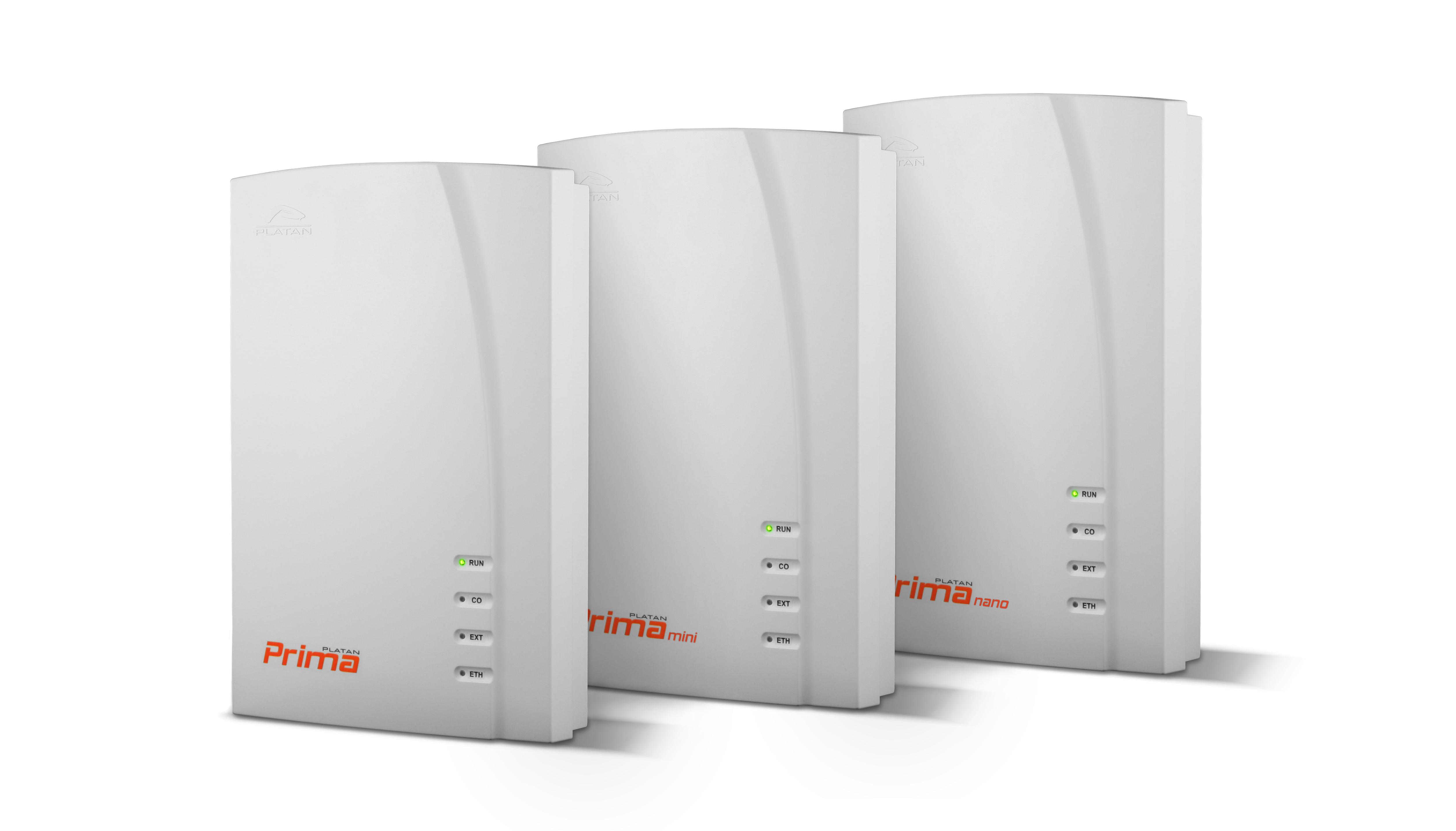 Centrale IP PBX Prima, Prima nano, Prima mini