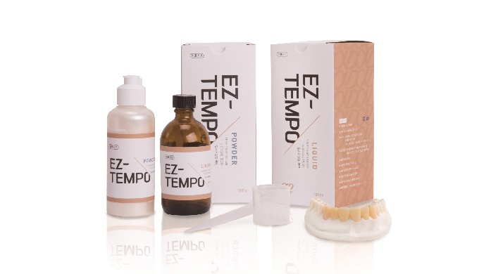EZ-TEMPO_Self Curing Acrylic resin for Temporary Crown & Bridge