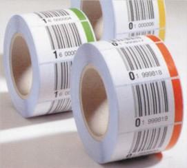 Etiketten und Laseretiketten