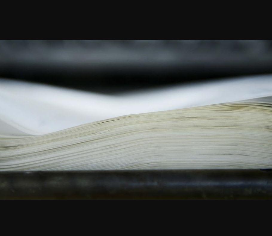 Impression sur papier de faible grammage