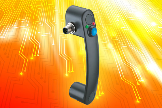 Elesa's new EBR-SW bridge pull handle enables remote electrical operation of safety interlocking and...