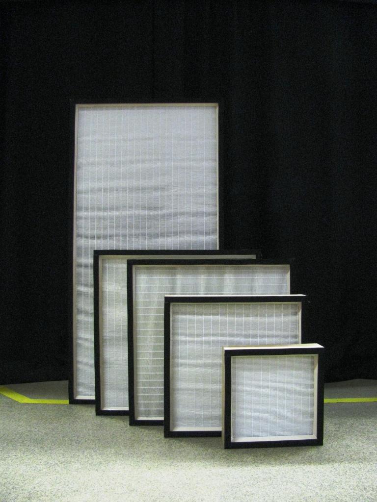 Absolutní filtry EPA, HEPA a ULPA pro mikročástice Absolutní filtry pro mikročástice ve třídách filt...