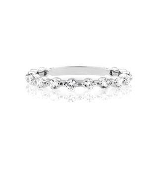 Classic Diamond Guard Ring