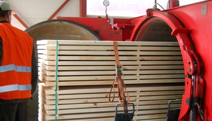 Импрегнация древесины (Украина)